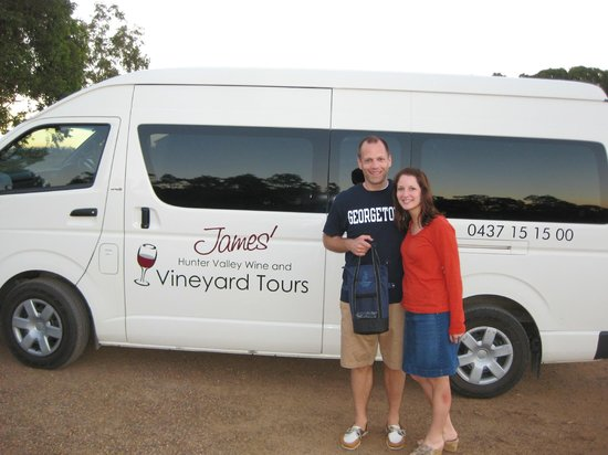 James' Hunter Valley Wine and Vineyard Tours : Third stop of the day!