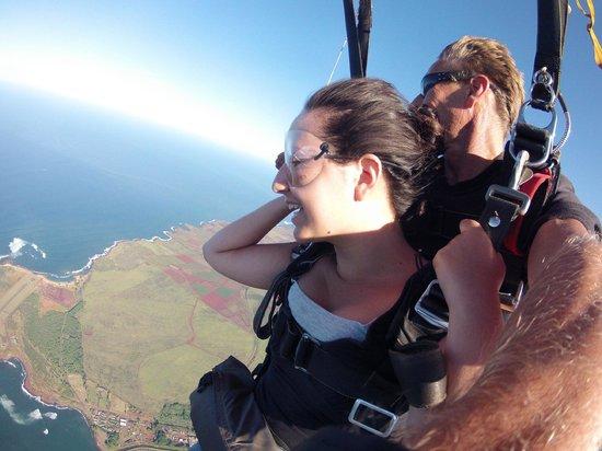 Skydive Kauai : Skydiving over Kauai