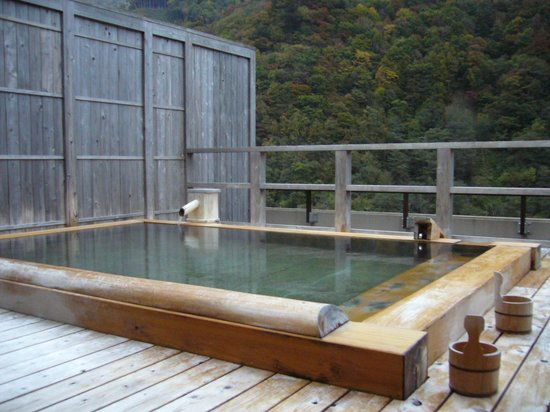 Yukimurasaki: 屋上にある貸切の露天風呂です