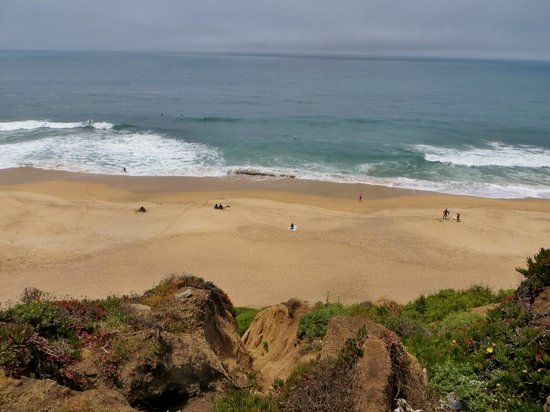 Half Moon Bay, CA: view from the top
