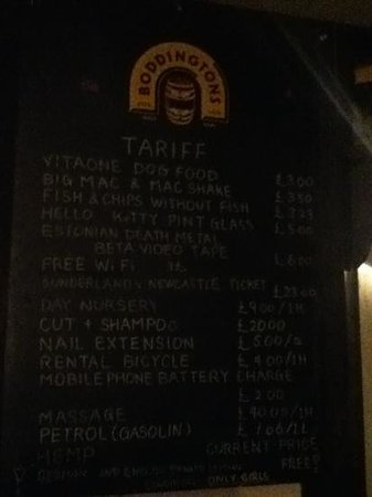 THE ALDGATE: pub humor