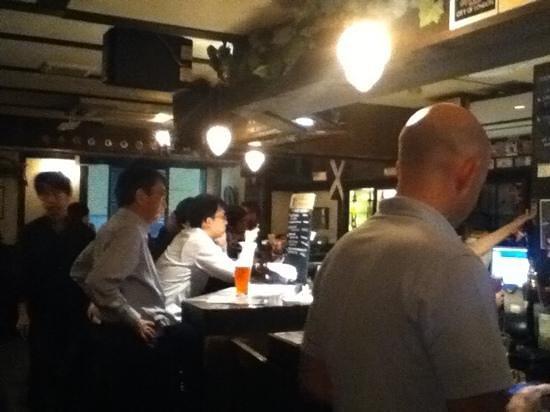 THE ALDGATE: the bar area