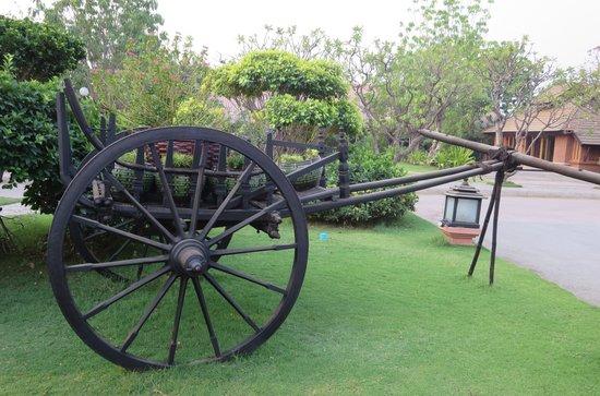 Rupar Mandalar Resort: Beautiful Landscaping.