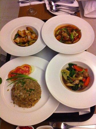 Avista Phuket Resort & Spa: Good thai food