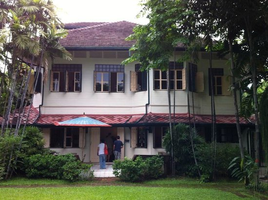 The Museum of Floral Culture: Beautiful old Tropical Villa with the displays inside