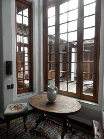 Art Hotel Deco: Vista al patio interior