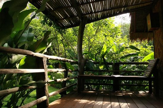 The Cliff & River Jungle Resort: Room Balcony