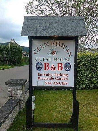 Glen Rowan Guest House: glen rowan
