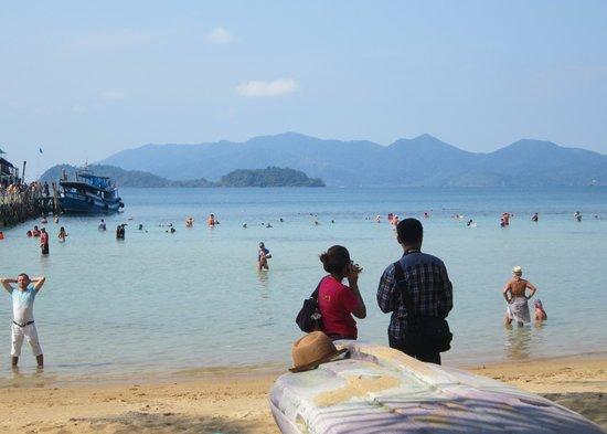 Koh Wai Pakarang Resort : Så här såg det ut för det mesta.
