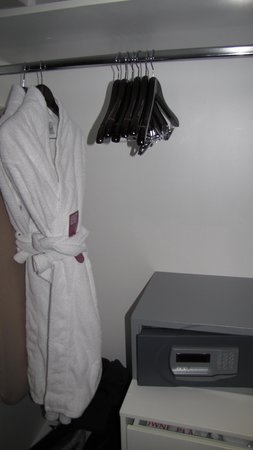 Crowne Plaza Adelaide: robes are a nice touch