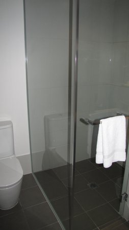 Crowne Plaza Adelaide: Lovely big shower
