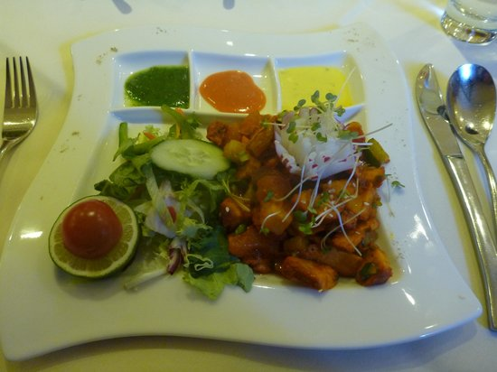 The Spice Room: Chicken Chat
