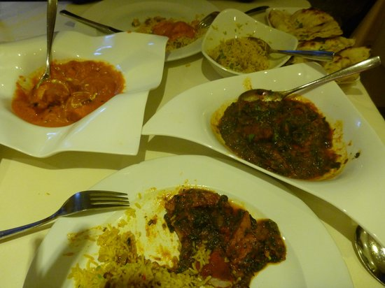 The Spice Room: Main meal