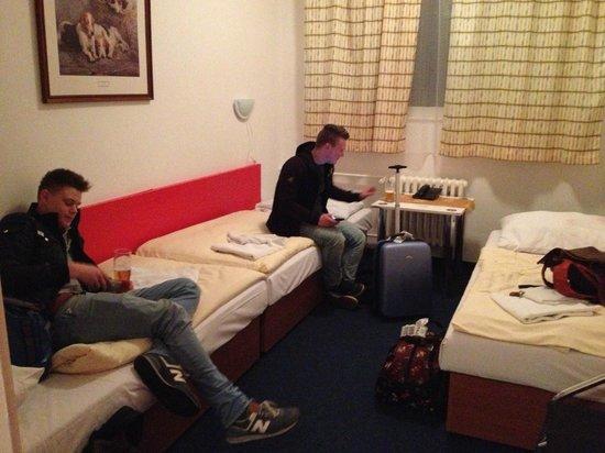 Hotel Slavia: Onze 3ps kamer