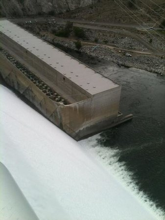 Grand Coulee Dam : from the top of the dam