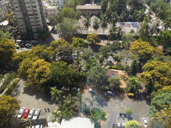 Vivanta by Taj - President, Mumbai: View of the park in front of the hotel.