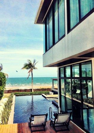X2 Hua Hin Le Bayburi - Pranburi Villa : Modern Tropical villa