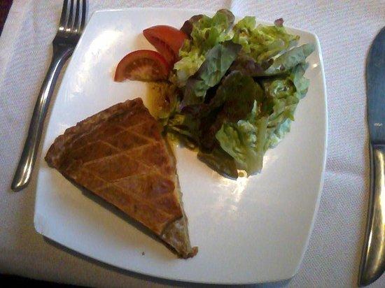 Hotel Restaurant Du Haut du Roc : Tourte Vosgienne 6.80E