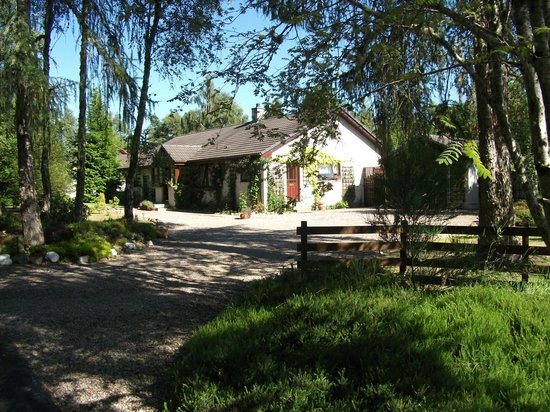 An Darach Bed & Breakfast : Front garden and house