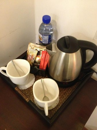 Gingerflower Boutique Hotel: Complimentary stuff