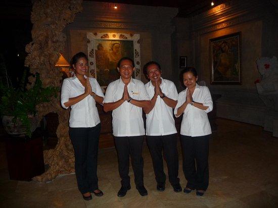 The Royal Pita Maha: Administration staff