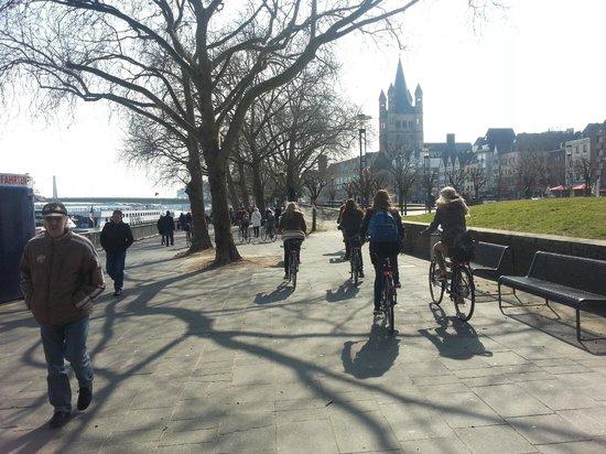 Colonia Aktiv Tours: Fahrradtour am Rhein
