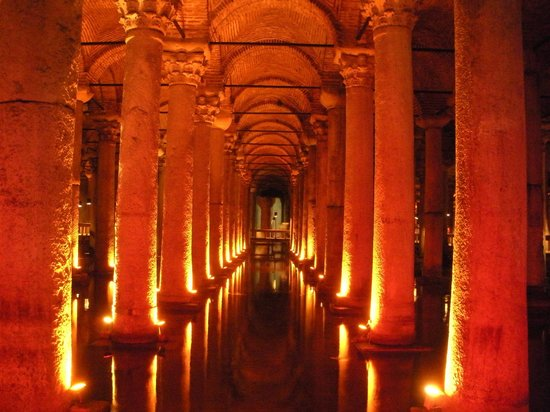Basilica Cistern - Picture of Basilica Cistern, Istanbul ...