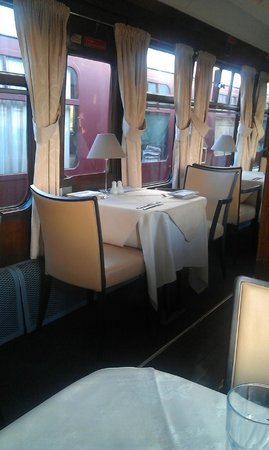 The Sidings Hotel: First class dining car