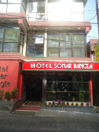 Hotel Sonar Bangla - Darjeeling: The outside view of Sonar Bangla