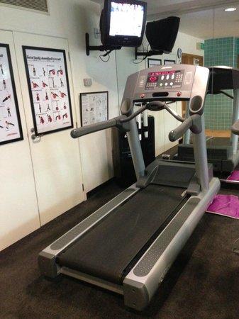 Novotel Hamilton Tainui: Life fitness treadmill