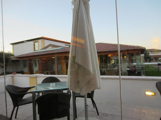 Hotel Lusitano: View from Restaurant
