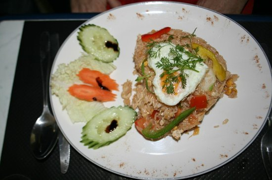 Bangkok Cafe: Un plat Thaï