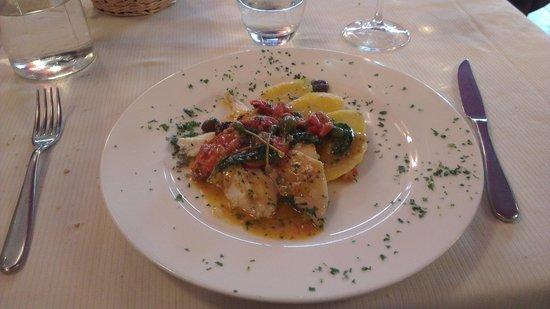 Da Vic - Ristorante Guerrini : pesce san pietro al forno