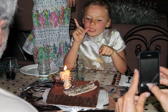 Villa Tata Marie : Les 7 ans de Charline