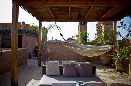 Casa Lalla: Le toit-terrasse