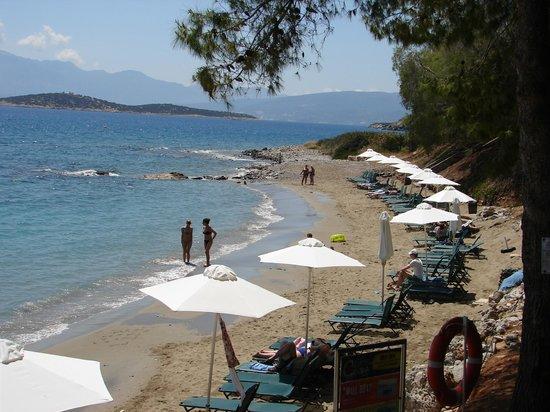 Candia Park Village: prive strandje