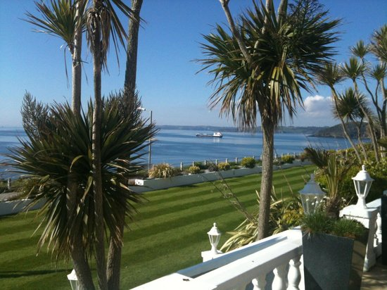 The Royal Duchy Hotel: View from the front terrace - Very Beautiful!!!