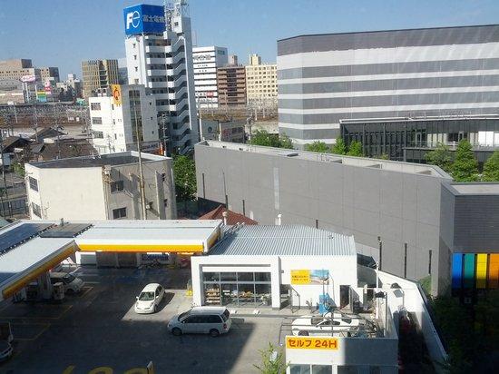 Hotel Sunroute Plaza Nagoya: 룸에서 내다본 모습
