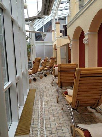 Hotel Erlebach: Ruhebereich