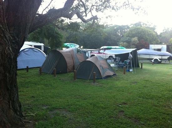 Straddie Camping: Add a caption