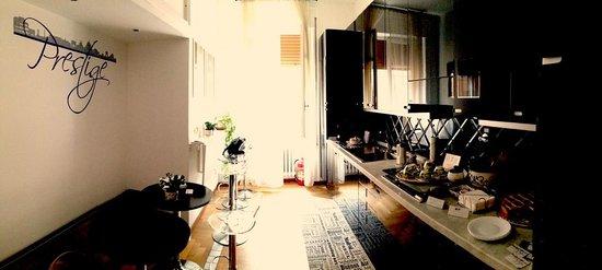 B&B Prestige: common room