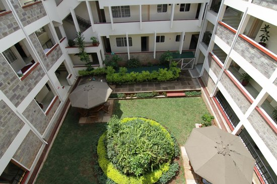 LMS Guest House and Conference Centre: LMS Guest House – back yard