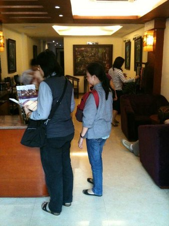 Aranya Hotel: checking-in