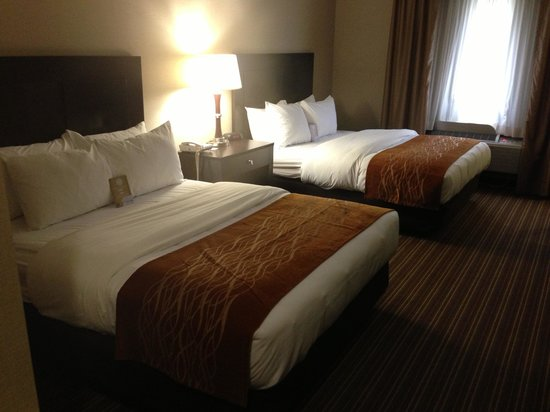 Comfort Inn Millersburg: 2 queen room