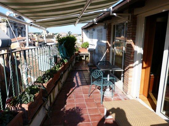 Hotel Regno: Roof Garden