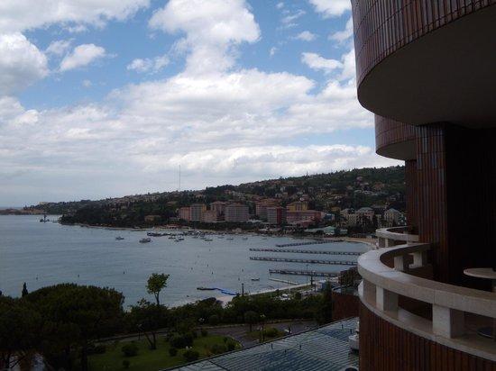 Remisens Premium Hotel Metropol : Dal terrazzo della camera 604