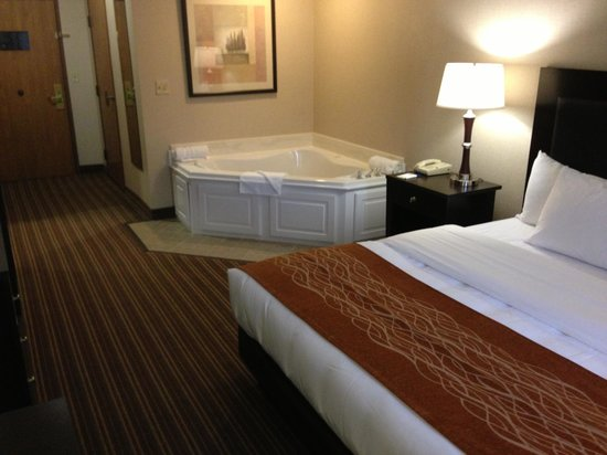 Comfort Inn Millersburg: King Suite