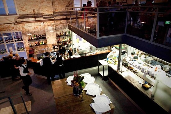 Our Open Kitchen And Bar Area Adds A Great Element To Our Historic