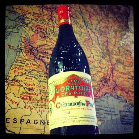 Wines upon a time : Chateauneuf-du-Pâpe, Le Clos de l'Oratoire des Pâpes.