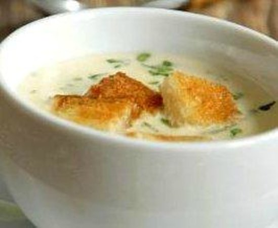 Five Restaurant: zupa serowa five